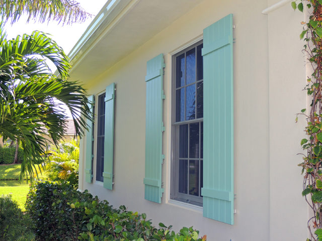 Colonial shutter company in Florida