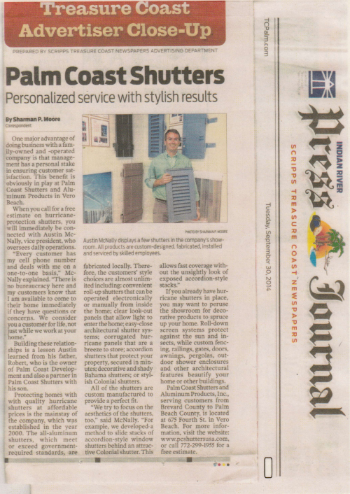 Press Journal Vero Beach Contact