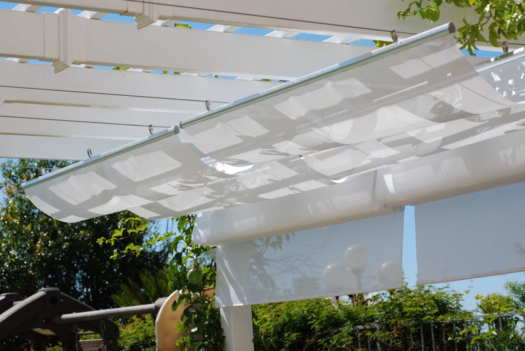 Retractable Canopy installation