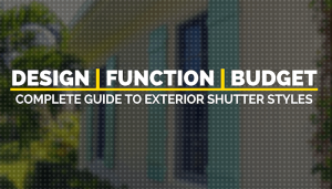 Finding The Perfect Shutters For Your Home