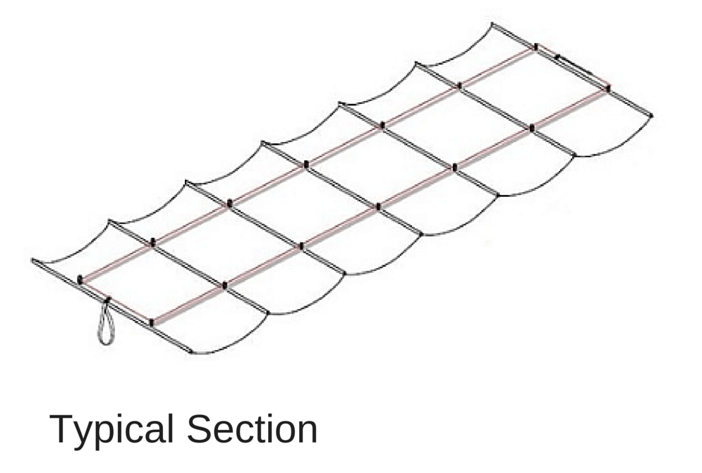 typical section illustration
