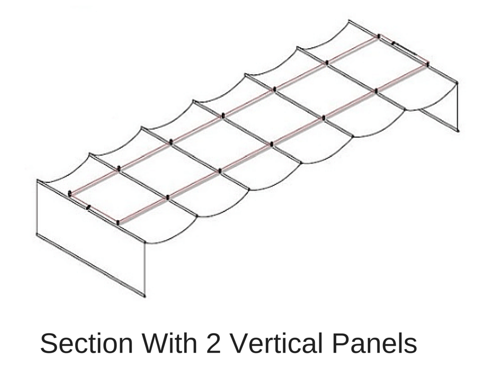 vertical panels illustration